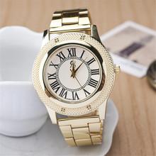 Recién llegado de cuarzo masculino relogio, oro de acero lleno de la correa relojes mujer. venta caliente digital mujeres del reloj envío gratis