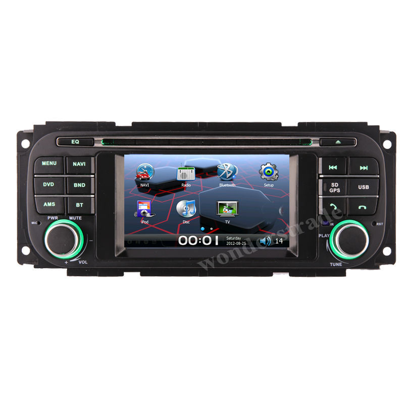 "4.3"" CAR DVD PLAYER autoradio radio with GPS navigation for JEEP Wrangler Liberty Grand Cherokee(China (Mainland))"