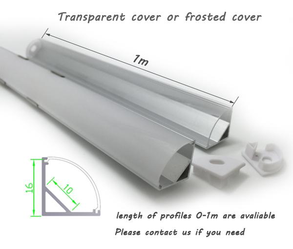 V type  corner  LED profile led aluminium slot for counter led strip  corner light cabint light wardrobe light corridor light<br><br>Aliexpress