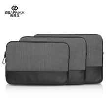 Free Shipping New 13″14″ British Style Herringbone Business Laptop Bag Sleeve for Apple Macbook and Other