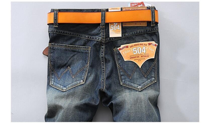 #2715 2017 Vintage Mens ripped jeans Hip hop jeans men Denim biker Pantalon homme Patches Designer jeans men high quality Skinny