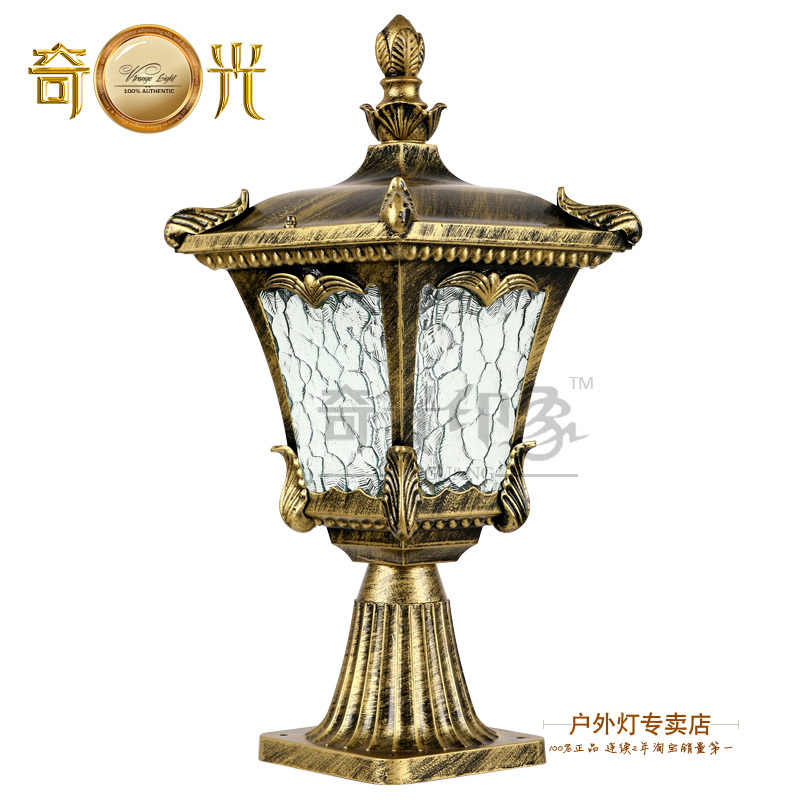 Quality Landscape Lighting Fixtures: Column Lamps Wall Light Quality Fashion Lamp Post Outdoor