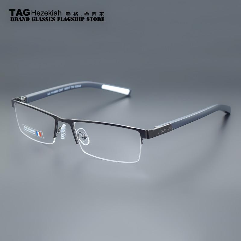 ultralight TAG brand sports glasses fashion business half box myopia frame glasses frame men and women tag optical frame TH0882(China (Mainland))