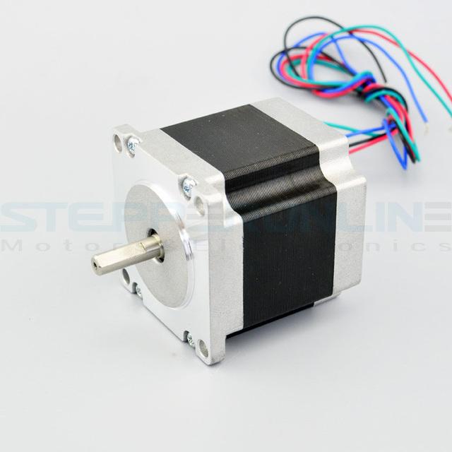 Nema 23 stepper motor bipolar 4 leads 1 5a for Stepper motor holding torque calculator