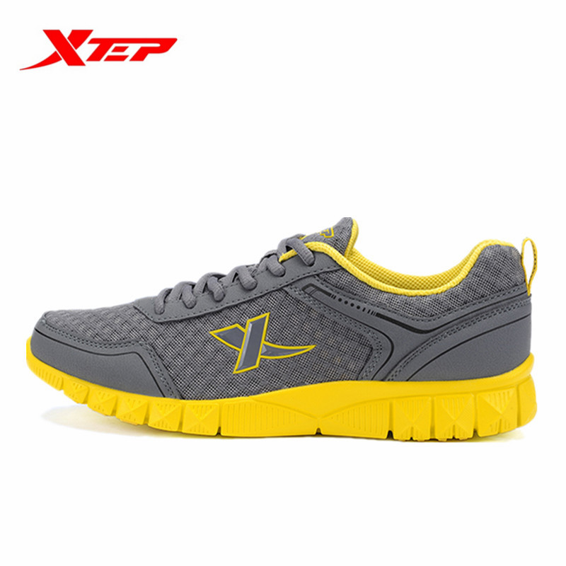 Xtep Mens Outdoor Spring Autumn Breathable Lace-Up Running Shoes Lightweight Comfortable Sport Sneakers 986219322792B2G79<br><br>Aliexpress