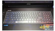 Clear Tpu Keyboard skin Covers guard For MSI GE62 GS70 GS60 GT72 GT72S PE60 PE70 GE72 GP72 GP62 WS60 WT72 GS72 GL72 GL62
