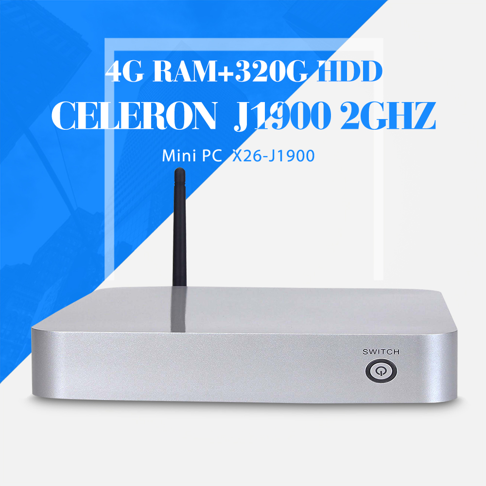 celeron J1900 4g ram+320g hdd+wifi computer networking thin client computer support touch screen desktop computer thin client(China (Mainland))
