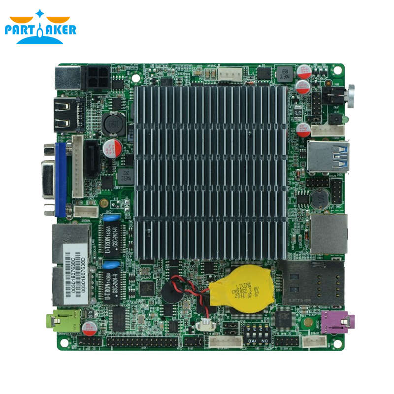 12*12cm Baytrail Motherboard with Dual Lan Quad Core Mainboard J1800 nano itx motherboard OEM ITX-N29_18(China (Mainland))