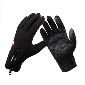 Winter Touch Screen Popular Bike Car Climbing Outdoor sports Men Women ski gloves Cycling Genuine Long Mittens Motorcycle