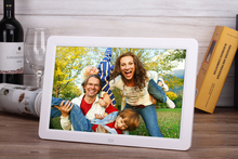 12″ HD TFT-LCD Multifunctional Digital Photo Frame Electronic Picture Album Music/Video/E-book/Time