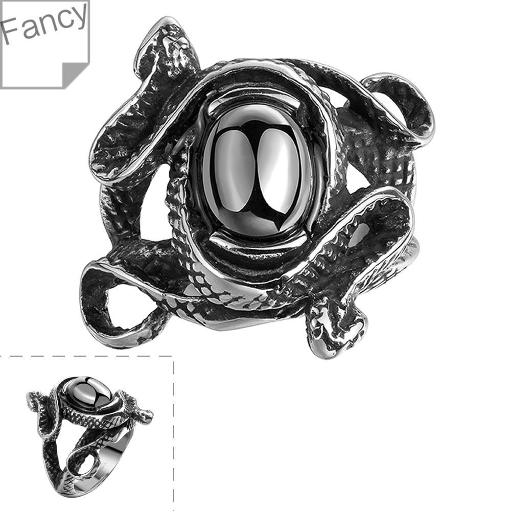 Ring Titanium Steel Ring Unisex's Black Vintage Skull Ring Fashionable Styles Jewelry Wholesale Free Shipping bucg LGMYR101(China (Mainland))