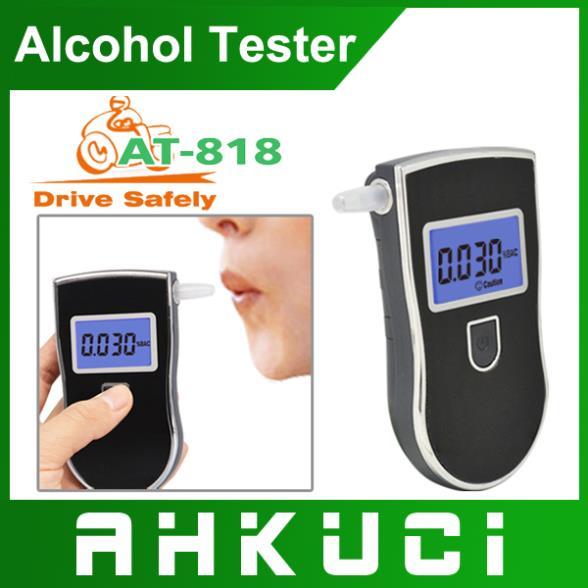2014 профессиональных алкоголя в выдыхаемом воздухе алкотестер высокое качество AT-818