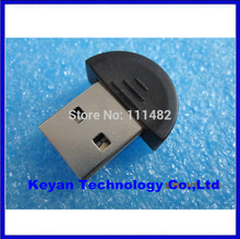 5pcs/lot 2.0 Mini USB Bluetooth Dongle Adapter V2.0 for PC Headset Phone PDA Support Win7(China (Mainland))