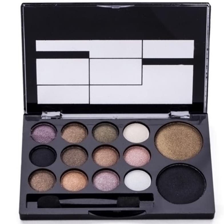 Гаджет  Professional Makeup 1 Set 14 Warm Color Eye Shadow Palette Neutral Nude Comestic Eyeshadow#M01096 None Красота и здоровье