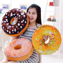 Free Shipping Funny Cartoon Sweet chocolates Donuts Sofa and chair back Cushion Car Mats Student pillow