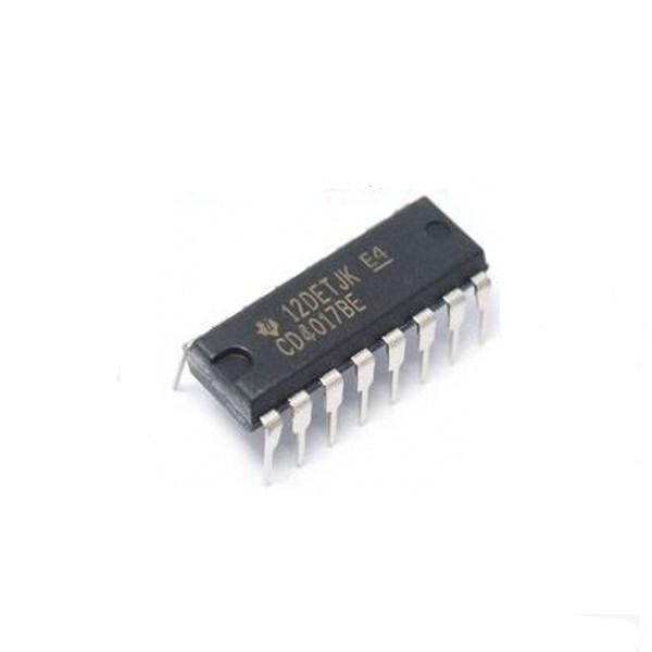 100PCS CD4017 CD4017B CD4017BE 4017 DECADE COUNTER DIVIDER IC(China (Mainland))