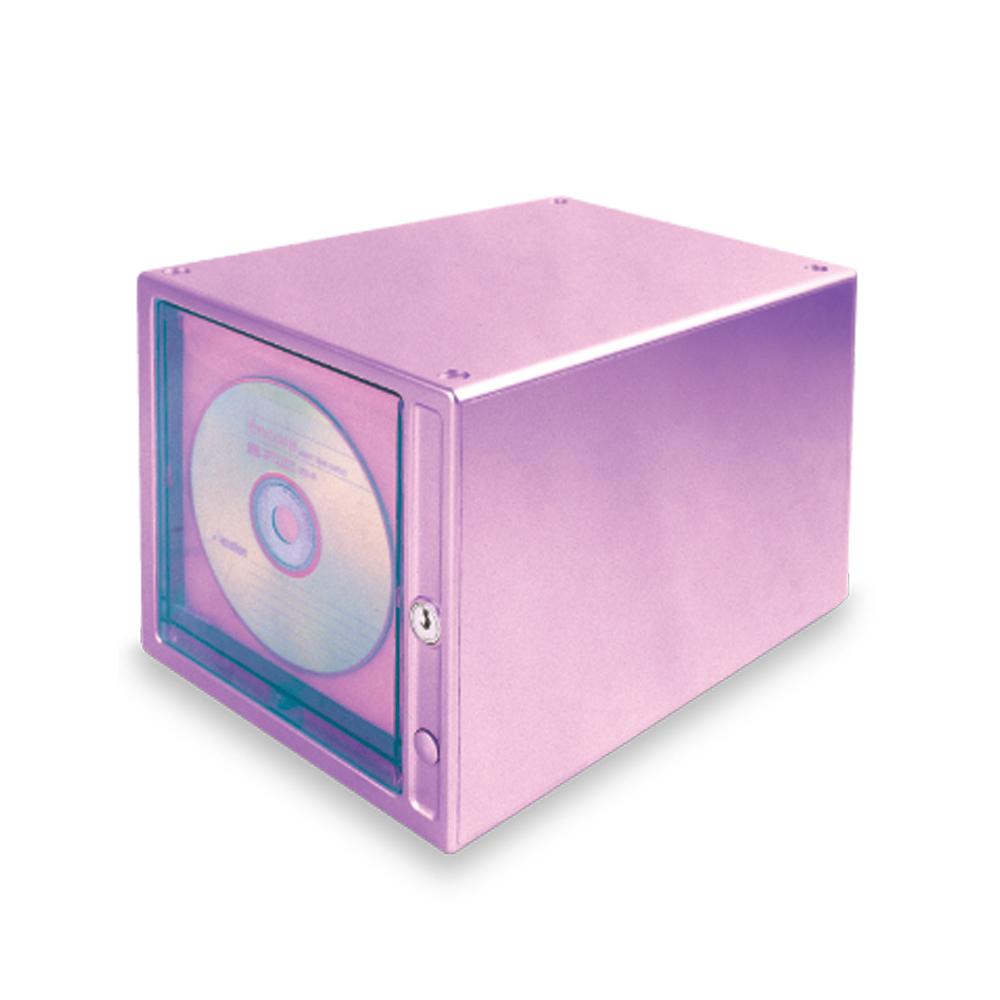 HIPCE Lynx authentic touch locking CD disc storage box large-capacity CD storage rack cabinet CDB-80(China (Mainland))