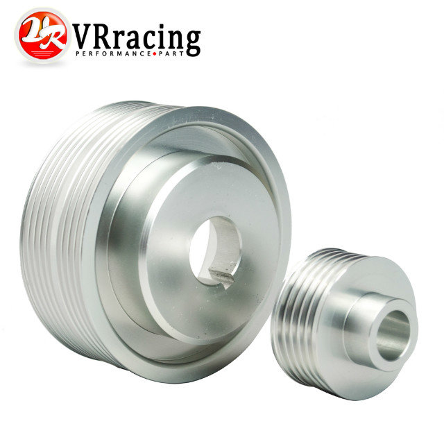 VR Racing Store LIGHT WEIGHT CRANK PULLEY For Subaru IMPREZA WRX V 7 8 9 GDB