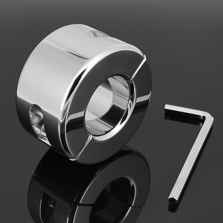 Free shipping,metal cock stretcher ring,stainless steel scrotum ring, KB sex toy penis ring for men,35 mm diameter(China (Mainland))