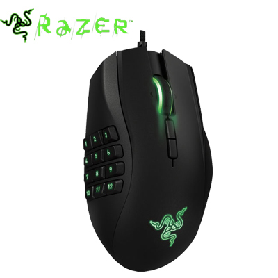 Razer Naga 2014 Gaming Mouse, Right Hand Original & Brand NEW in box, 8200dpi Razer Precision 4.0G Laser Sensor.(China (Mainland))