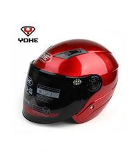 ABS YOHE Motorcross Moto Racing Helmets summer half face Motorcycle helmet Motorbike electric bicycle helmets yh-837(China (Mainland))