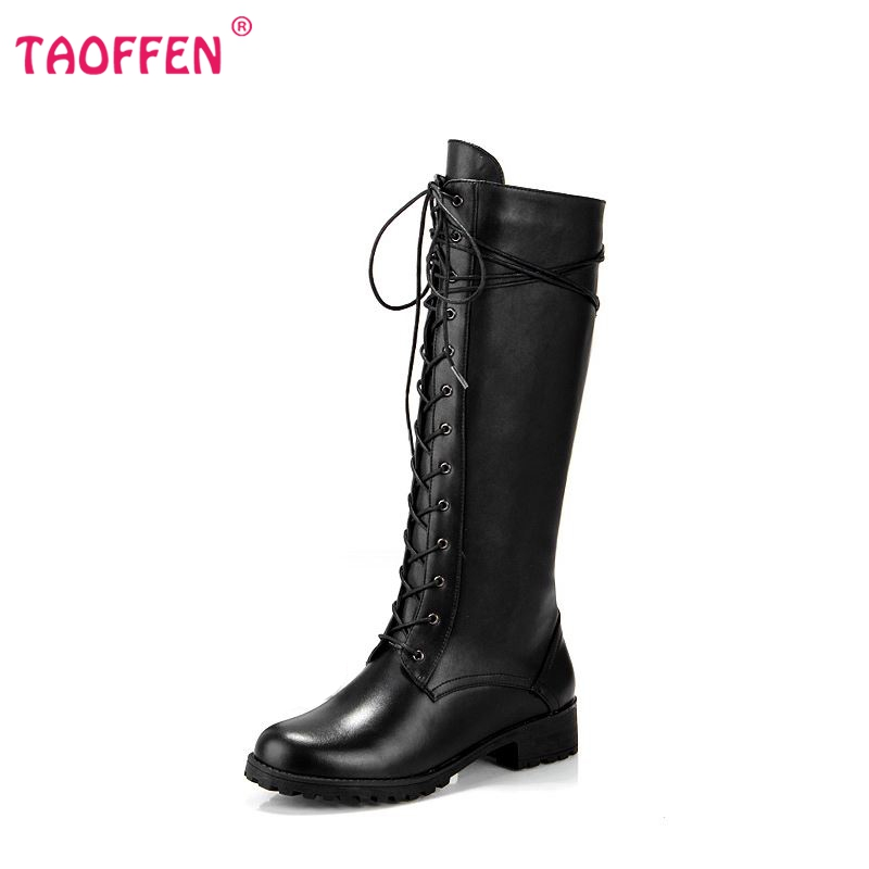 Фотография Free shipping over knee natrual real genuine leather high heel boots women snow winter warm shoes R4828 EUR size 34-39