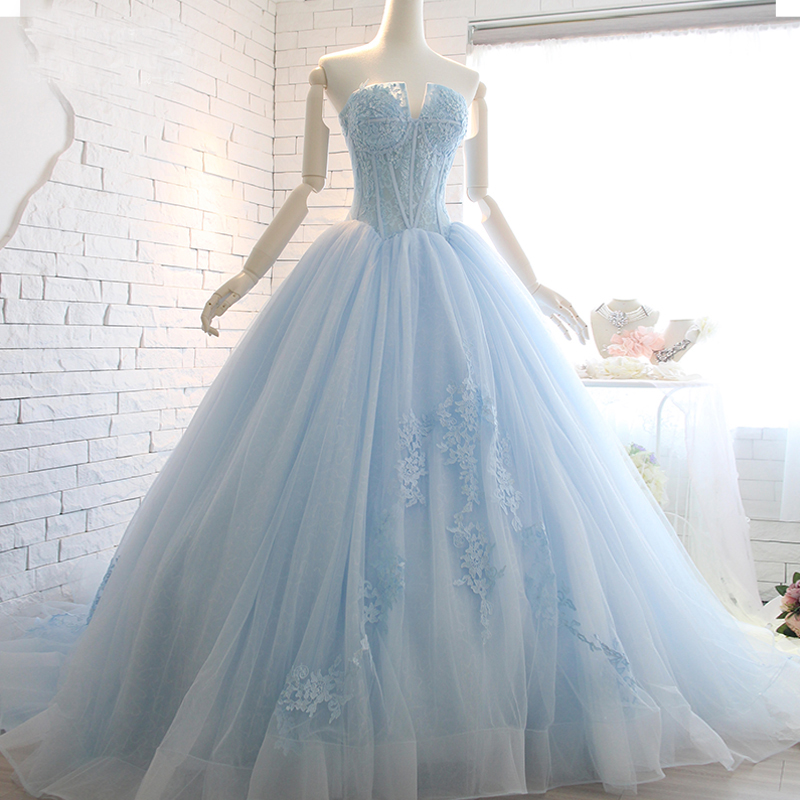 Online buy wholesale cheap corset wedding dresses from for High low ball gown wedding dress