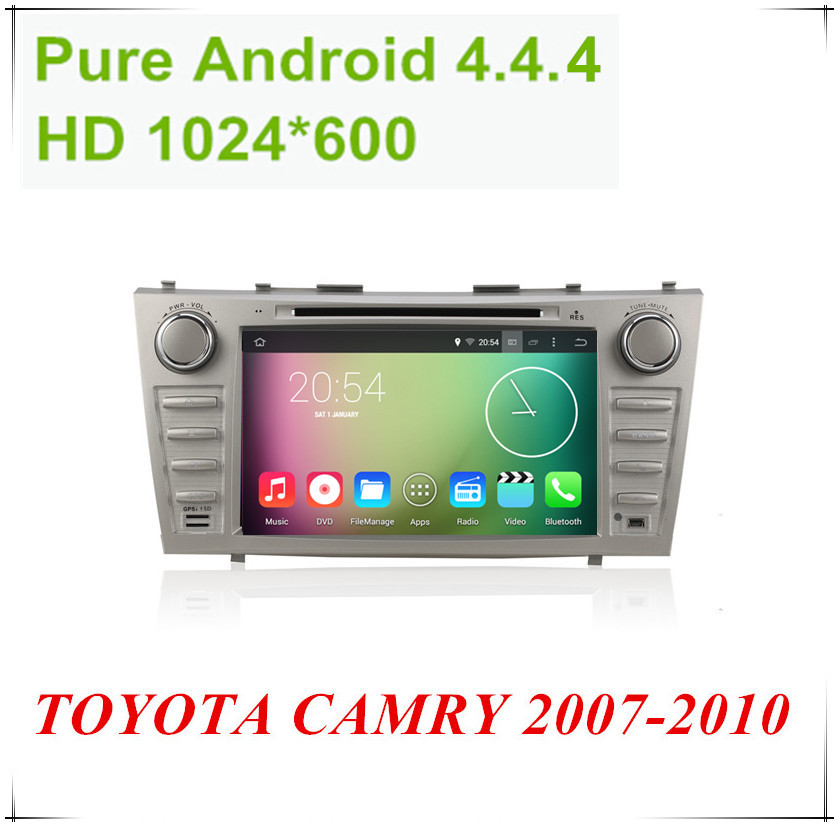 """Android 4.4.4 HD 1024*600 Quad core 1.6GHz Nand Flash 16GB 8"""" Car DVD player For TOYOTA CAMRY 2007-2010(China (Mainland))"""