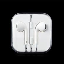 Top quality 3.5mm Studio Earphone Headset Audifonos Headphones Earbuds For I phone Samsung Mp3 Xiaomi Music Microphone(China (Mainland))
