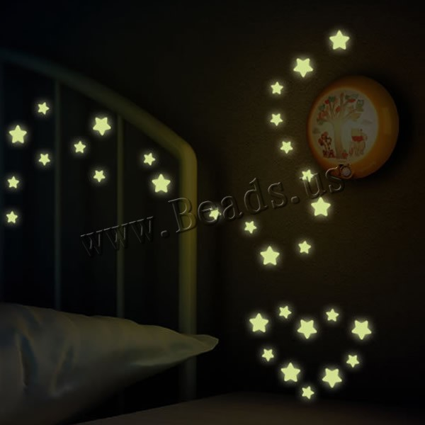 Гаджет  100 Pcs Wall Stickers Home Decor Glow In The Dark Star Stickers Decal Baby Kids Gift Nursery Room None Дом и Сад