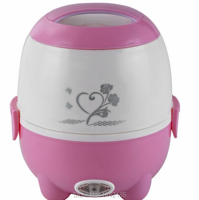 Cartoon Electric Cooker ~ Cartoon mini couples single electric rice cooker