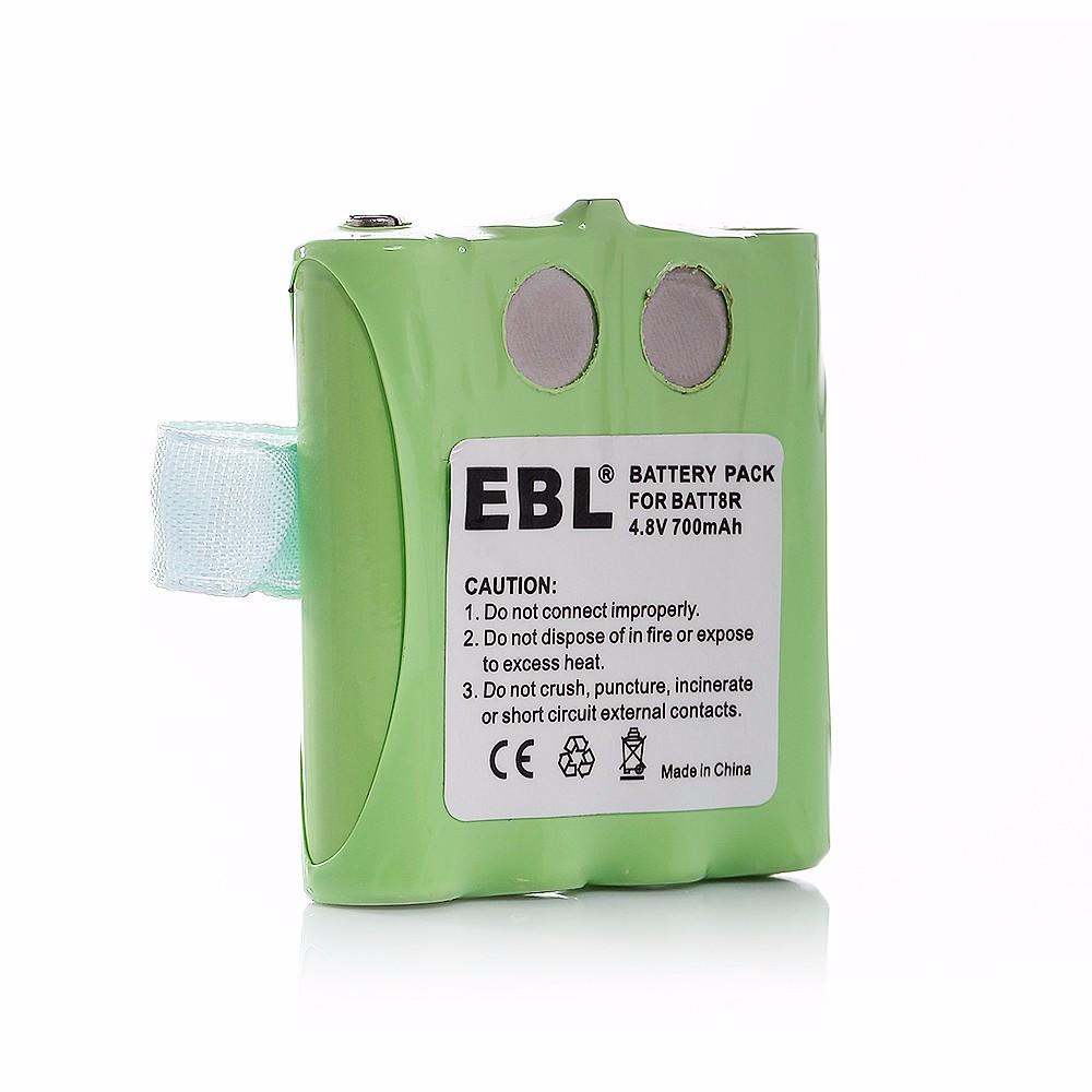 EBL 700mAh 4.8V Replacement Battery For Midland 2-Way Radio phone BATT8R BATT-8R LXT300 LXT315 LXT300VP3 free shipping