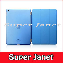 1 Pair/lot 1 PC PU Leather Magnetic Smart Cover +1 PC Hard Back Case For Apple iPad Mini 4 Multi-Color(China (Mainland))