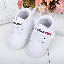 Baby Infant Kids Boy Girl Soft Sole Canvas Sneaker Toddler Newborn Shoes 0 18 M Wholesale