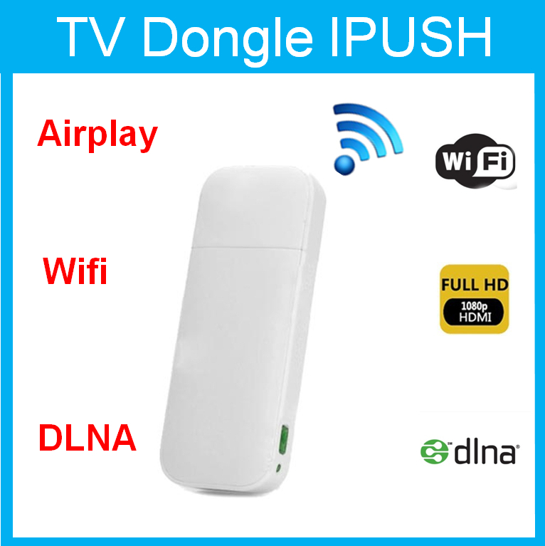 ipush dongle miracast dongle android smart tv dongle with functions HDMI HD makes your tv become android tv V8(China (Mainland))