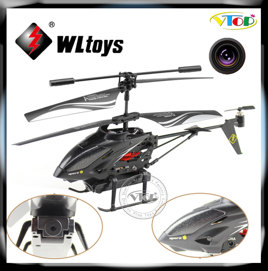 Remote Control Helicopter With Video Camera WL Upgrade version WL ...