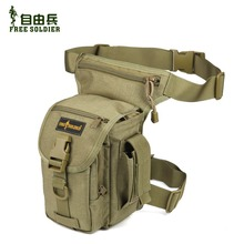 Free soldier Outdoor multifunctional leg bag  tactical leg bag ride sports waist pack bag