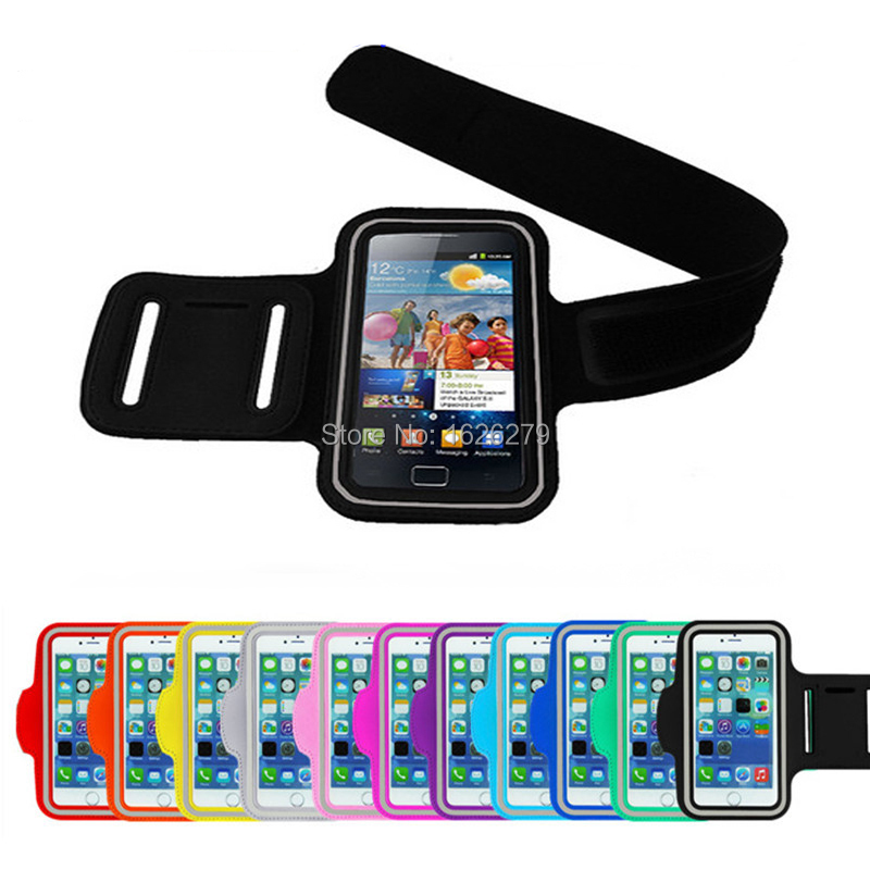 Top Quality Waterproof PU Leather Armband Phone Case For IPHONE5 IPHONE 5 5S 5C Belt Wrist Strap Arm Band Bag iPhone6 Wholesale