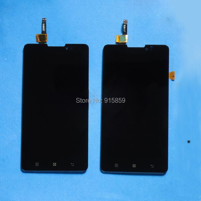 Direct Marketing FOR Lenovo P780 LCD Display + Digitizer Touch Screen TP Glass Assembly black free shipping