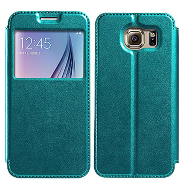 KALAIDENG 2016 New Luxury Slim Stand Leather Back Cover Case For Samsung Galaxy S7 5.1 Camera WIFI Cell Phone Android Phone