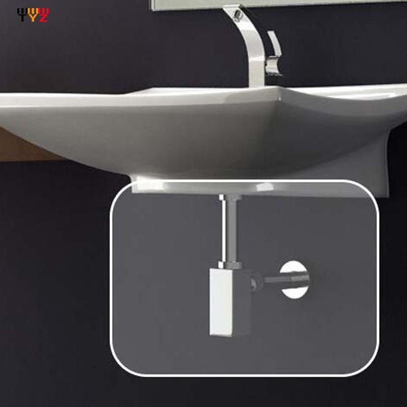 2015 Drain Shower +bathroom Saccesssories P Trap Bathroom Vanity Basin Pipe Waste - Solid Brass Chrome timely zu's store