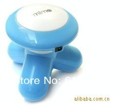 Free shipping USB Infrared Mini Triangle Massager/mini portable body massager without the battery