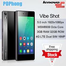 Original Lenovo Vibe Shot Z90 FDD LTE 4G Mobile Phone 3GB RAM 32GB ROM 5 0
