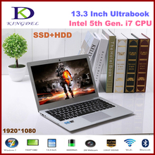 Powerful 13.3″ Intel i7 5th Generation Laptop Computer, Ultrabook, 8GB RAM 256GB SSD, 1920*1080, Full Metal Case, 8 Cell Battery