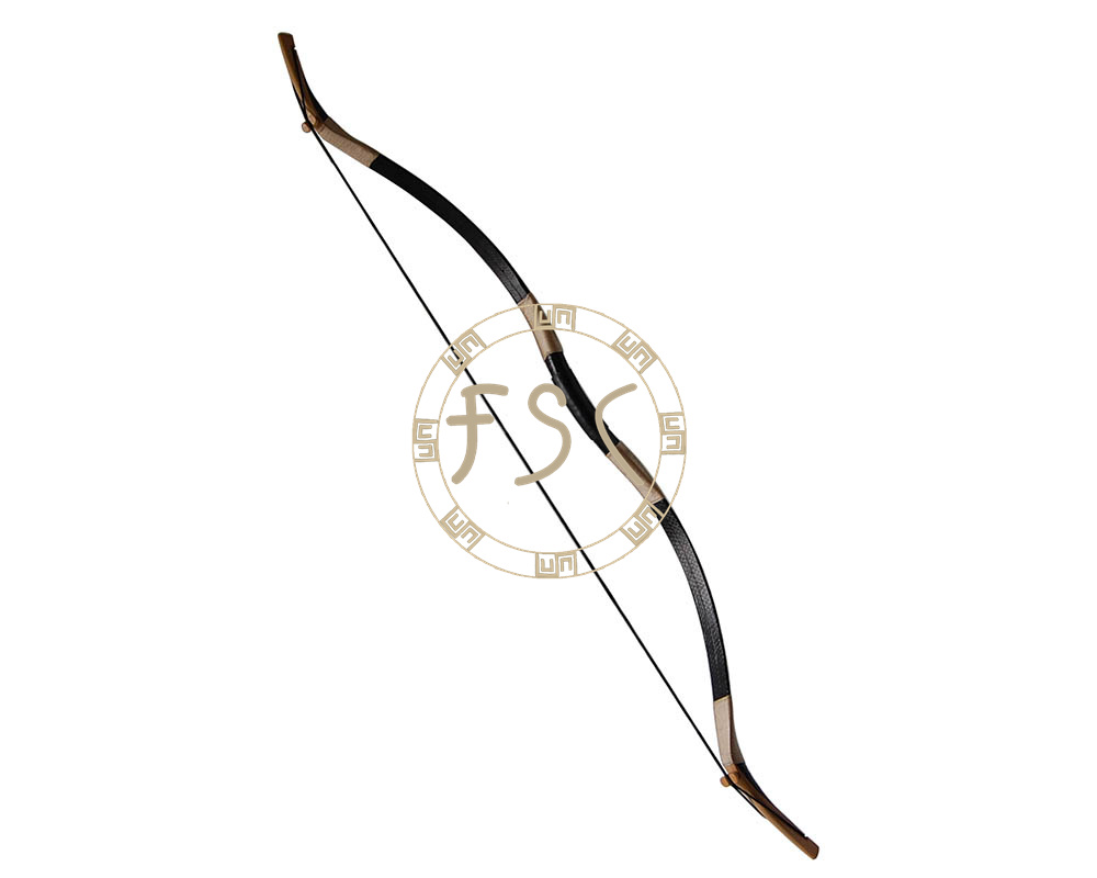70Ibs Black Snakeskin recurve bow handmade wooden hunting bow and arrow archery longbow Sport Outdoor shooting