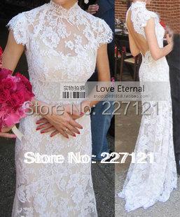 2015 свадебное платье сексуальная открытой спиной длинный шнурок свадебное платье модный Brideslmaid белый красный цвет Availabal леди платье