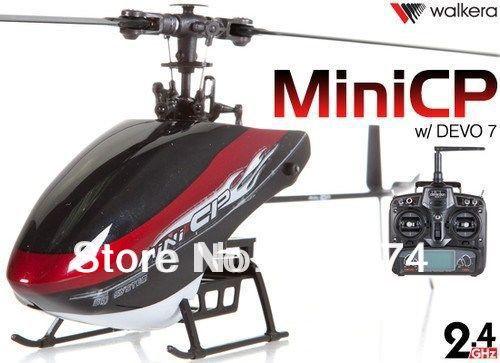Walkera Mini CP 2.4GHz 6 Ch 6-Axis Gyro RC Helicopter + DEVO7 TX RTF(China (Mainland))