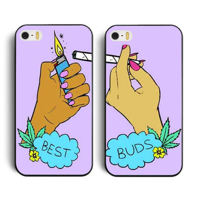 Best Buds Set of Friends cellphone case cover for 4 4s 5 5c 5s 6 6 plus Samsung galaxy S3 S4 S5 S6 S7 edge Note 2 3 4 5(China (Mainland))