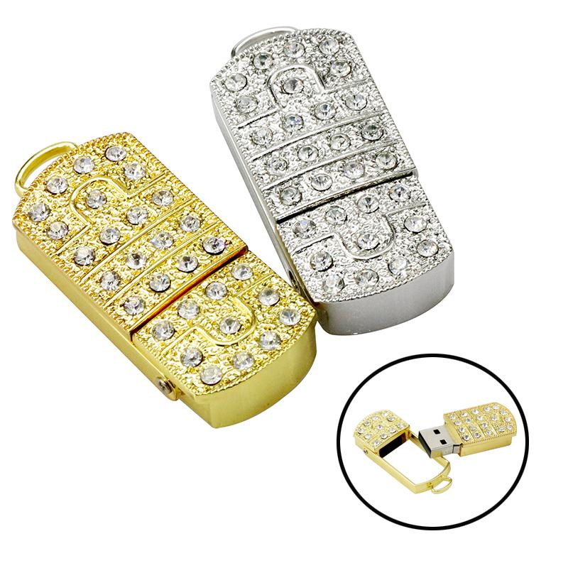 Full Capacity pendrive usb flash drive Prince Charming crystal necklace 8gb 16gb 32gb 64GB pen drives jewelry usb flash memory(China (Mainland))