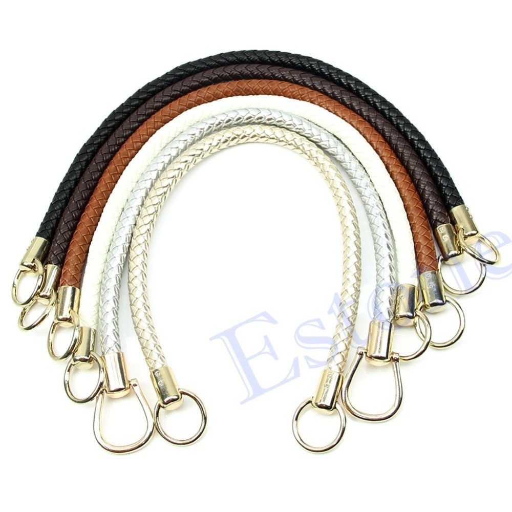 Free shipping Fashion DIY Round Shoulder Bags Purse Handle Replacement Handbag Strap Hot Sale(China (Mainland))